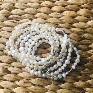 NWOT Silpada Freshwater Pearl Goddess Bracelets